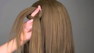 Easy Big Loop Braids Hair Tutorial - Braids Hair