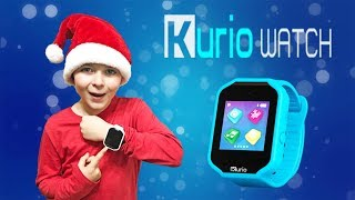 Ryan and Brother unbox Kurio Watch 2.0 Holiday Unboxing Kids Video