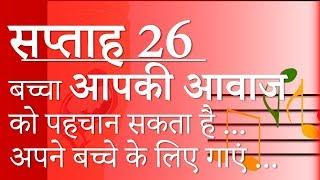Pregnancy | Hindi | Week by Week - Week 26 | गर्भावस्था - सप्ताह 26 - Month 6