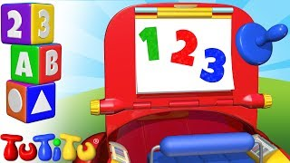 TuTiTu Preschool | Learning Numbers for Babies and Toddlers | Drawing Kit