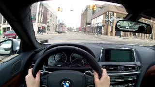 2014 BMW 640i XDrive Gran Coupe - WR TV POV Test Drive 2 (City Driving)