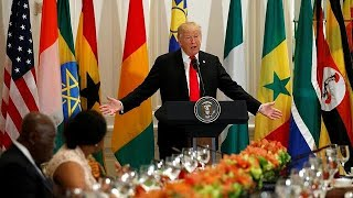 ONU : Donald Trump rencontre les leaders africains