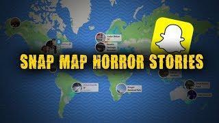 3 Disturbing Snapchat/Snap Map Horror Stories