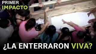 Entierran viva a una joven en Honduras