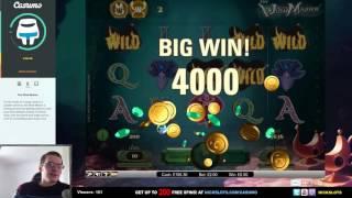 SUPER MEGA WIN on The Wish Master Slot - £2 Bet