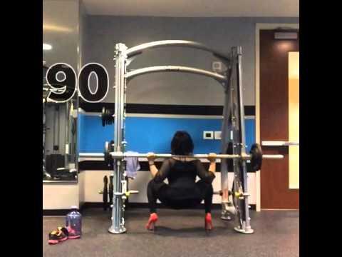 High Heels and squats