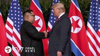 Netanyahu praises Trump for stance on Iran-NK - TV7 Israel News 13.06.18
