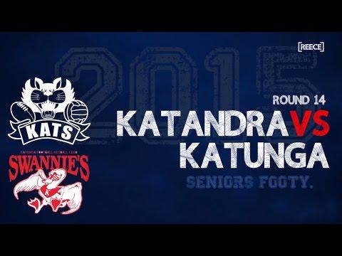 Round 14: Katandra vs Katunga - Seniors