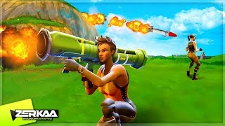 WINNING WITH GUIDED MISSILES! (Fortnite Battle Royale)