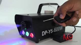 Maquina de fumaça com com Exclusivos LED RGB 600W + líquido para 10 festas