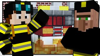 Minecraft | THE FIREFIGHTER MISSION!! | Custom Mod Adventure