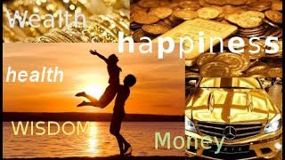 Wealth, Health, Money, Happiness and How to get what you want great speach by Norman Peale