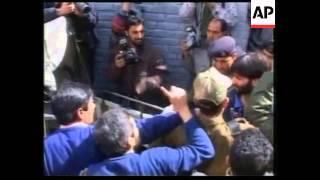 FILE of Kashmir's top separatist leader, Malik freed from prison