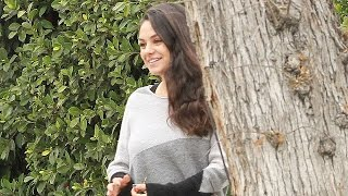 Mila Kunis Steps Out and Stuns Just One Month After Giving Birth -- See the Pic!