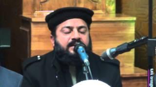 Qari  Ghulam Mustafa Naeemi Tilwat in Milad 2014 Qadria Trust