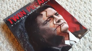 TWIN PEAKS: SEASON 3 - A Limited Event Series Blu Ray Unboxing