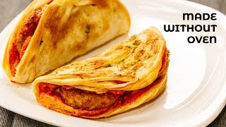 Taco Mexicana - Homemade Dominos Style in Tawa / Oven Tacos Shells Recipes - CookingShooking