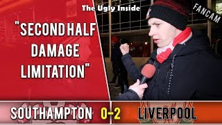 Second half damage limitation | Southampton 0-2 Liverpool | The Ugly Inside