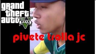 GTA 5: PIVETE TROLLA JC, ROUBA ÔNIBUS E CAUSA ACIDENTE!!!!