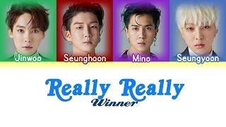 Winner (위너) - Really Really (Lyrics {Hangul/Romanization/PT-BR})