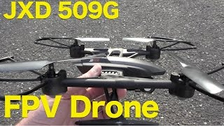 Pioneer UFO JXD 509G, Streaming FPV Quadcopter with HD Video Review