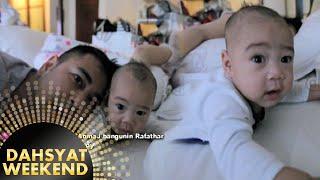 Lucu Banget Selfiecam Raffi Bangunin Rafathar [Dahsyat] [31 Jan 2016]