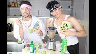CHOLOS DO THE WORLDS SOUREST DRINK CHALLENGE