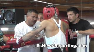 mikey garcia after sparring marcos maidana for mayweather EsNews Boxing