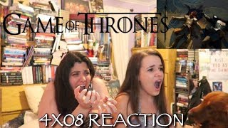 """GAME OF THRONES 4X08 """"THE MOUNTAIN AND THE VIPER"""" REACTION"""