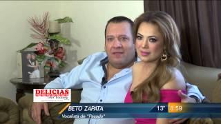 Las Noticias - En Exclusiva Beto Zapata y su esposa nos presentan sus trillizos.