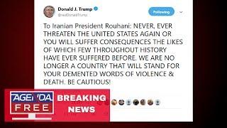 Trump Threatens Iran in ALL CAPS Tweet - LIVE BREAKING NEWS COVERAGE