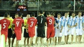 2013 FIFA Beach Soccer World Cup / Friendly / Tahiti vs Argentina Highlights