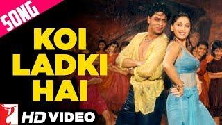 Koi Ladki Hai Song | Dil To Pagal Hai | Shah Rukh Khan | Madhuri Dixit | Lata | Udit