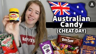 AUSTRALIAN CANDY TASTE TEST | EPIC CHEAT DAY