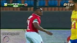 اهداف مباراة الاهلى و طنطا 24-4-2017 - الهدف الاول للاهلى - كوليبالى