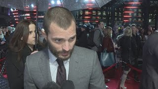 Fifty Shades Darker: Jamie Dornan on laughing through sex scenes