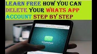 Whatsapp Account Delete - How To Delete Your Whats App