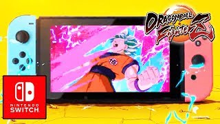 Dragon Ball FighterZ On the Nintendo Switch Is OFFICIALLY CONFIRMED!