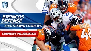 Denver Defense Dominates Zeke & Dak at Home!   Cowboys vs. Broncos   NFL Wk 2 Player Highlights