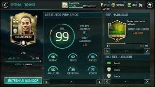FIFA MOBILE 18 - ¡¡RONALDINHO GRL 99!! ¿QUE TAN BUENO ES? ¡¡LO PROBAMOS!!
