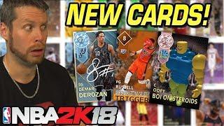 New NBA 2K myTeam Card Prototypes
