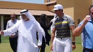 DP World Tour Championship Exclusive Arabic Media Briefing