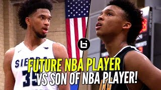 Future NBA Player vs SON of NBA Player! Sierra Canyon vs Bishop O