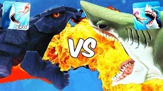 Hungry Shark World vs Hungry Shark Evolution