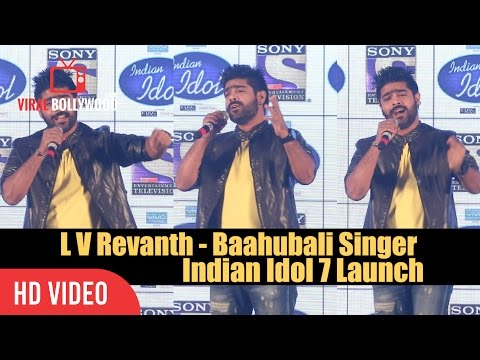 L V Revanth - Baahubali Singer At Indian Idol 7 Launch