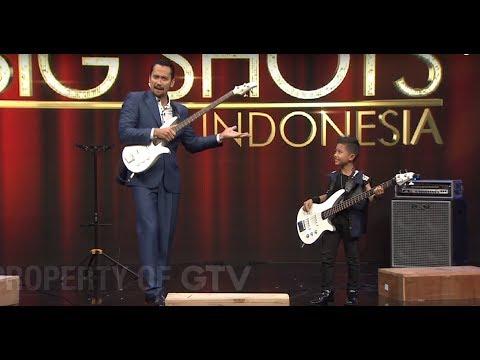 Diajarin Main Bass, Om Tora Sampai Melongo!   Little Big Shots Indonesia Eps. 6 (14) GTV 2017