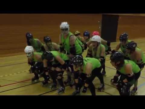 Rottin Rollers vs Brass Knuckle Harlots 8th Nov 2015