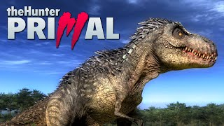 CRUSHED BY A T-REX ★ The Hunter: Primal (2)