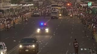 #عاجل | ضيوف الرحمن ينفرون من #عرفات إلى #مزدلفة بعد أن منّ الله عليهم بالوقوف على صعيد عرفات