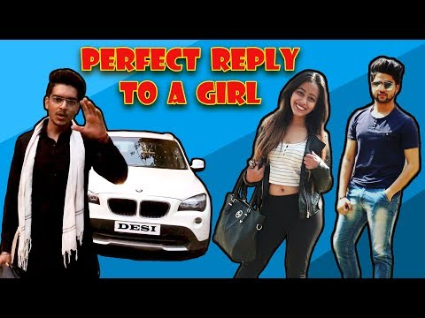 Xxx Mp4 PERFECT REPLY TO A GIRL DESI Rachit Rojha 3gp Sex
